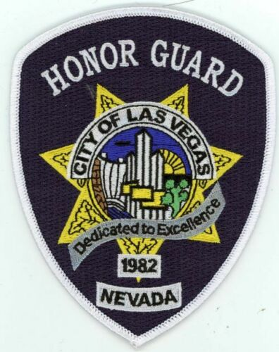 LAS VEGAS NEVADA NV POLICE HONOR GUARD NEW PATCH SHERIFF