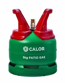 Patio Gas Bottle 5kg - Never used