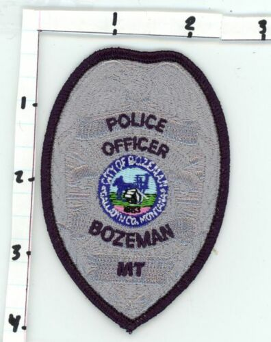 BOZEMAN POLICE MONTANA MT OFFICER NICE NEW COLORFUL PATCH SHERIFF