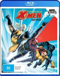 Marvel Knights - Astonishing X-Men : Gifted (Blu-ray, 2010) Blu-ray Rated M NEW