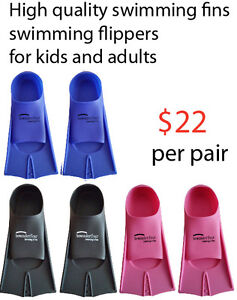 High quality swimming fins swimming flippers for kids and adults
