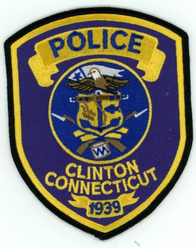 CONNECTICUT CT CLINTON POLICE NEW PATCH SHERIFF