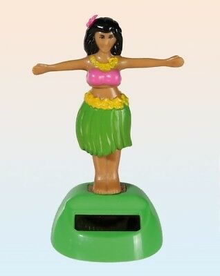 Solar Wackelfigur Hula Girl Tänzerin Wackelfigur Wackeldackel Deko Scherzartikel