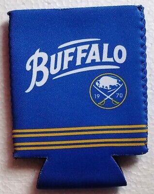 2019-20 Buffalo Sabres Labatt Blue Original Logo Can Koozie Brand New