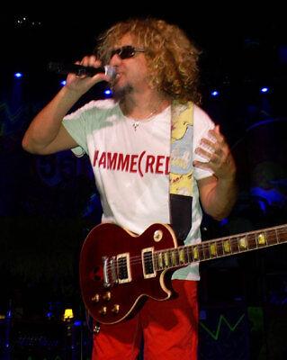 T-SHIRT Sammy Hagar Van Halen HAMMER(RED) Hammered