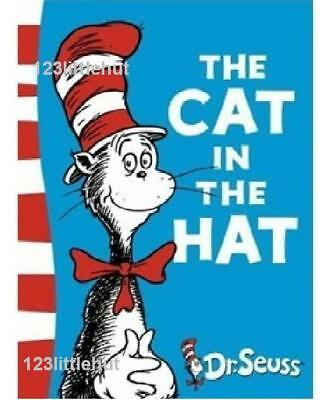 Dr. Seuss Kids Story Interesting Picture English Book - The Cat In The Hat