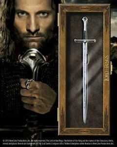 Licensed Lord of the Rings Anduril Letter Opener Aragorn Gift Prop Replica