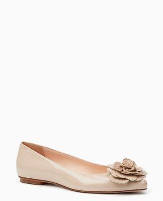 kate Spade New York Ellie Ballet Flat Shoes Nude UK 4.5 EU 37.5 LN22 87