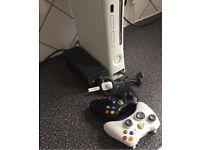Xbox 360 2 Wireless Pads Wireless Headset 11 Games
