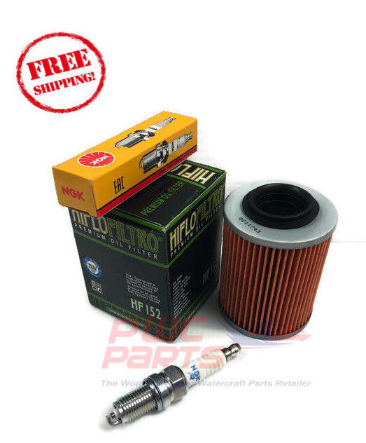 Can-Am Outlander 400 Max H.O 330 Tune Up Kit Oil Filter NGK Spark Plug DCPR8E