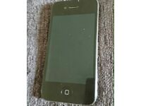 Unlocked iPhone 4 black
