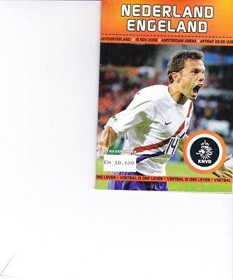 Nederland v Engeland (International Friendly) 15.11.2006