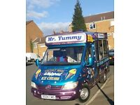 Mercedes Sprinter Van 311 2004 Ice Cream Van