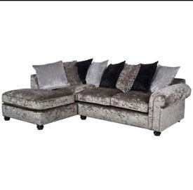 Glitz corner sofa 💕