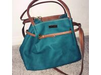 Jimmy Choo Leather Turquoise Bag