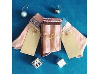 New Luxury Christmas Gift Sock Sets, Ladies & Girls Socks Sets Size 3-7