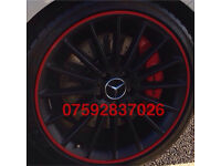 Mercedes Alloy wheel protection AMG c63 cdi a45 CLK SLK SL ML clc CLA B180 C220 E63