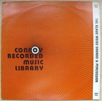 The Klaus Weiss Sounds & Percussion (Vinyl, LP)