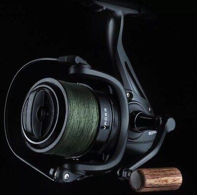 Sonik NEW Vader X Spod Carp Fishing Reel + FREE 200M 30LB SPOD BRAID