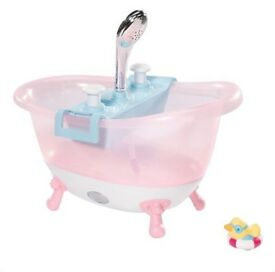 Baby Born Interactive bath tub
