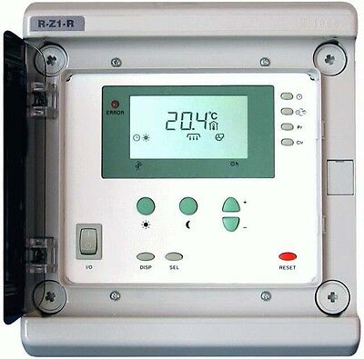 Regelung / Steuerung für Hallenheizung, Dunkelstrahler, Raumtemperaturregler