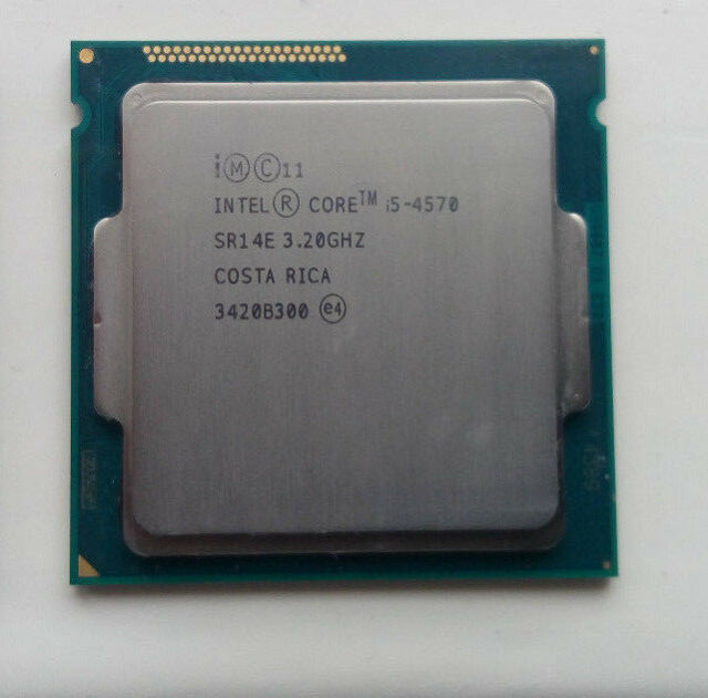 Intel Core i5 4570 3.2GHZ Quad Core CPU Processor LGA1150