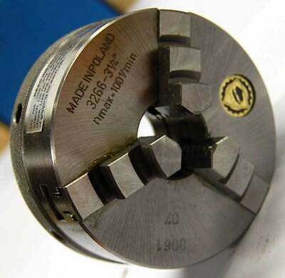 Bison 3 3-jaw Self-centering Quick Clamping Scroll Lathe Chuck-t.i.r. 0.00059