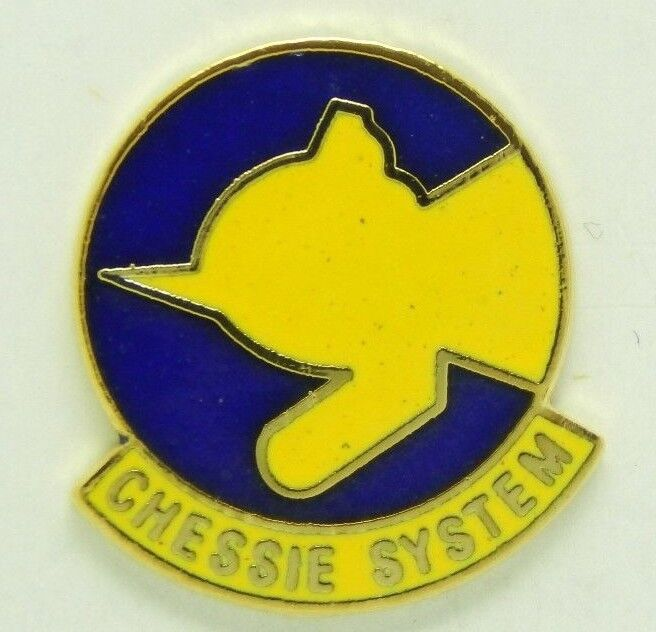 Railroad Hat-Lapel Pin/Tac  -Chessie System (C&O)  #1074 - NEW