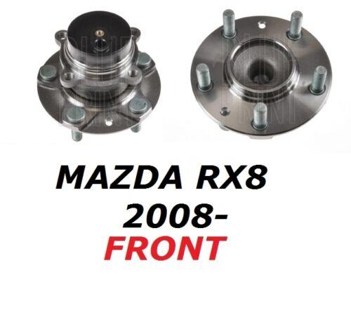 FOR MAZDA 1.3 2.6 RX8 RX 8 FRONT WHEEL BEARING HUB KIT ASSEMBLY 2008- 08 ONWARDS