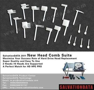 SalvationData Hard Drive Head Replacement Tool Kit (96 Piece Set)