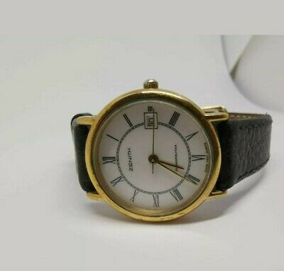 Zenith Cosmopolitan Lady Gold Plated Quartz Watch  for sale  Shipping to Nigeria