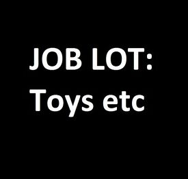 JOB LOT/ CARBOOT : New Items - Toys - Games - Assorted