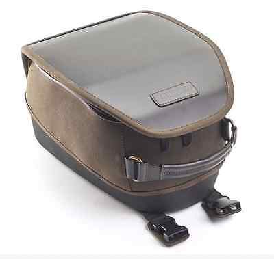 Used, Triumph Thruxton 1200/R Olive Waxed Cotton Tank Bag A9518094 for sale  Seattle