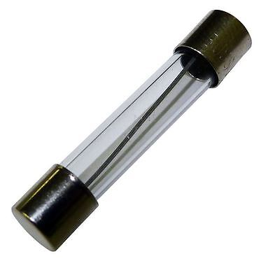 15 AMP 15A GLASS FUSE, 25 MM LONG , PACK OF 5