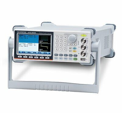 Gw Instek Afg-3022 20mhz 2 Channel Arbitrary Function Generator Afg Awg 250mss