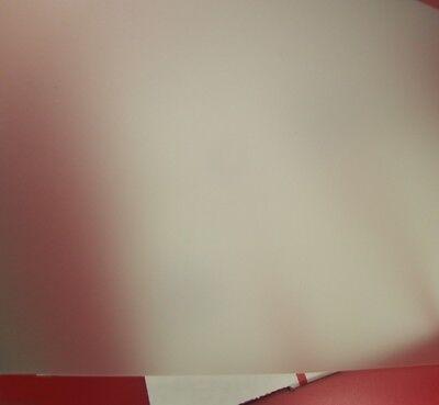 Polycarbonate Sheets 1 Side Matte Translucent Hazy .015 X 24 X 48 2 Units