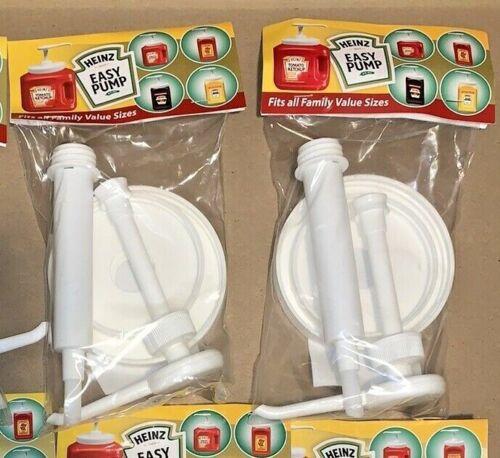 (2) Heinz Easy Pump Dispenser Ketchup, Mustard, Mayo & Sauce 49 - 114 Oz.