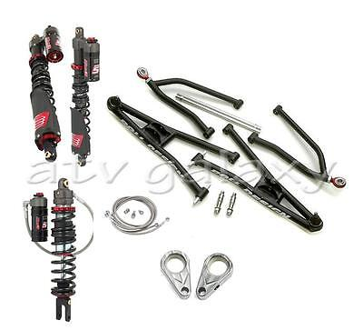 Roll Design MX Long Travel Arm Elka Stage 5 Front Rear Shocks Suspension YFZ450R