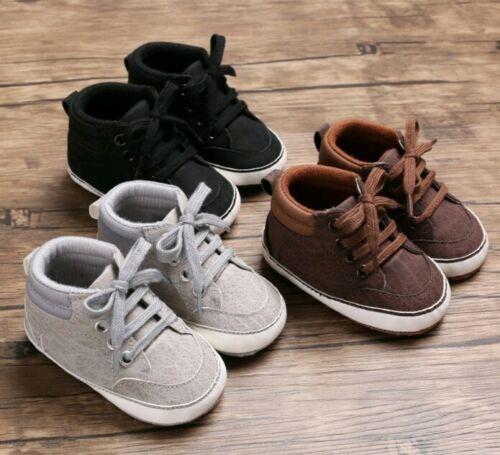 Baby Krabbelschuhe Mädchen Jungen Winterschuhe Warme Anti-Rutsch Sneaker
