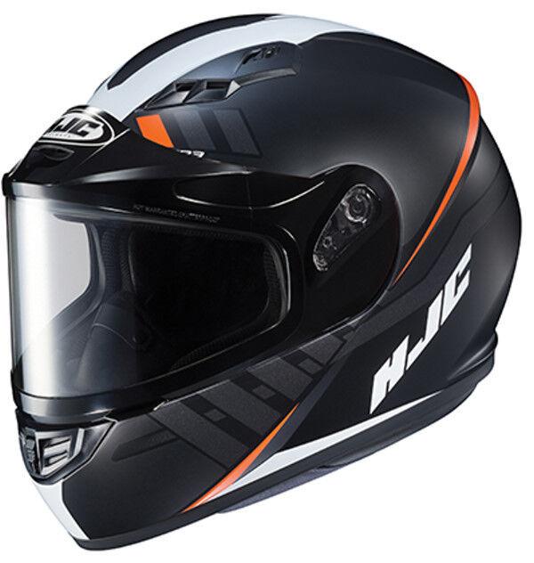 HJC CS-R3 Space Graphic Snow Helmet Framed Electric Shield Cord  Size Medium