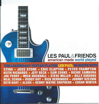 Les Paul & Friends American Made World Played STING ERIC CLAPTON KEITH RICHARDS ()