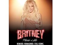 2x Britney Spears Tickets - Sunday 26th August 18 - London 02