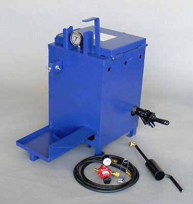 10 Gallon Gingway Mini Melter - Crack Filling Equipment, Stationary Kettle