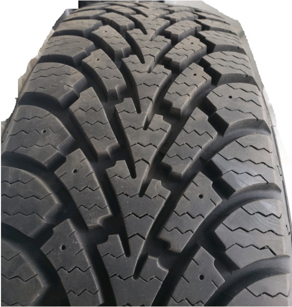 4 Goodyear Nordic-LN Winter Tires On LN Rims 205/65R15