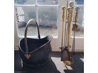 Companion set &a coal bucket