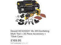 Dewalt multi tool kit.