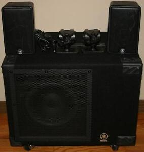 Yamaha MS100DR Electronic Drum Monitor Amplifier System
