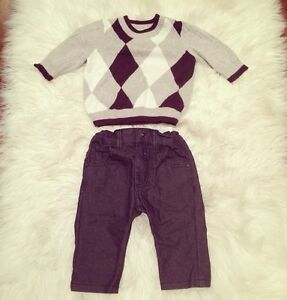 Baby boy outfit from H&M - Size 2-4M
