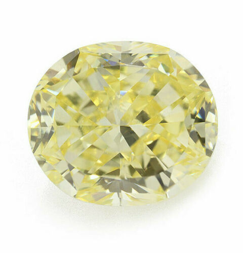 1.19 Carat Fancy Yellow Diamond VS2 GIA Certified Natural Color Loose Cushion