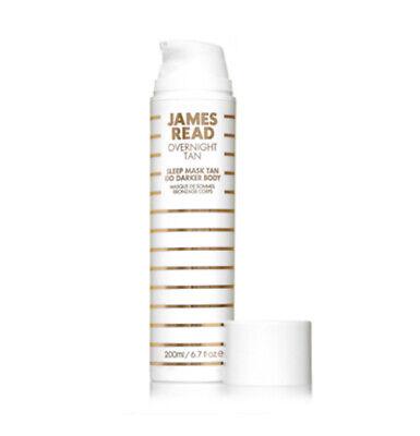 James Read Overnight Tan Sleep Mask Tan GO DARKER Body 200ml